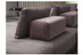 Divano design da centro stanza con cuscino schienali movibile