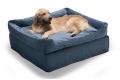 Pouf quadrato con cuccia in tessuto sfoderabile adatto per cani e gatti