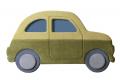 Testiera imbottita per letto bambini a forma di auto fiat 500