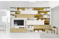 design wooden bookcase