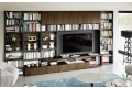 Modern bookcase for the living room