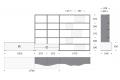 Misure parete attrezzata soggiorno di design