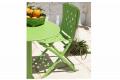Sedia Spring e tavolo Spritz in color lime