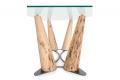 Tavolo fisso grande con gambe in legno di Bricole di Venezia