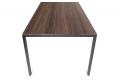 Tavolo rettangolare moderno fisso con gambe sottili perimetrali in metallo