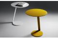 Tavolini moderni rotondi in metallo e legno