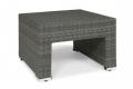 Tavolino da giardino esterno in grigio cenere
