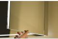 Ante laterali chiudibili con doppio specchio interno ed esterno