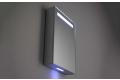 Specchio contenitore 1 anta da bagno con luci led ambientali