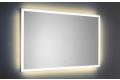 Specchio da parete bagno moderno retroilluminato con led a luce calda