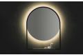 Specchio con mensola di design retroilluminato con luce led