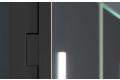 Specchio moderno contenitore con luci led e funzione antiappannamento
