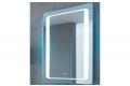 Specchio con orologio retroilluminato con cassa a vibrazione