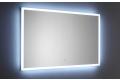 Specchio grande da parete di design retroilluminato a led