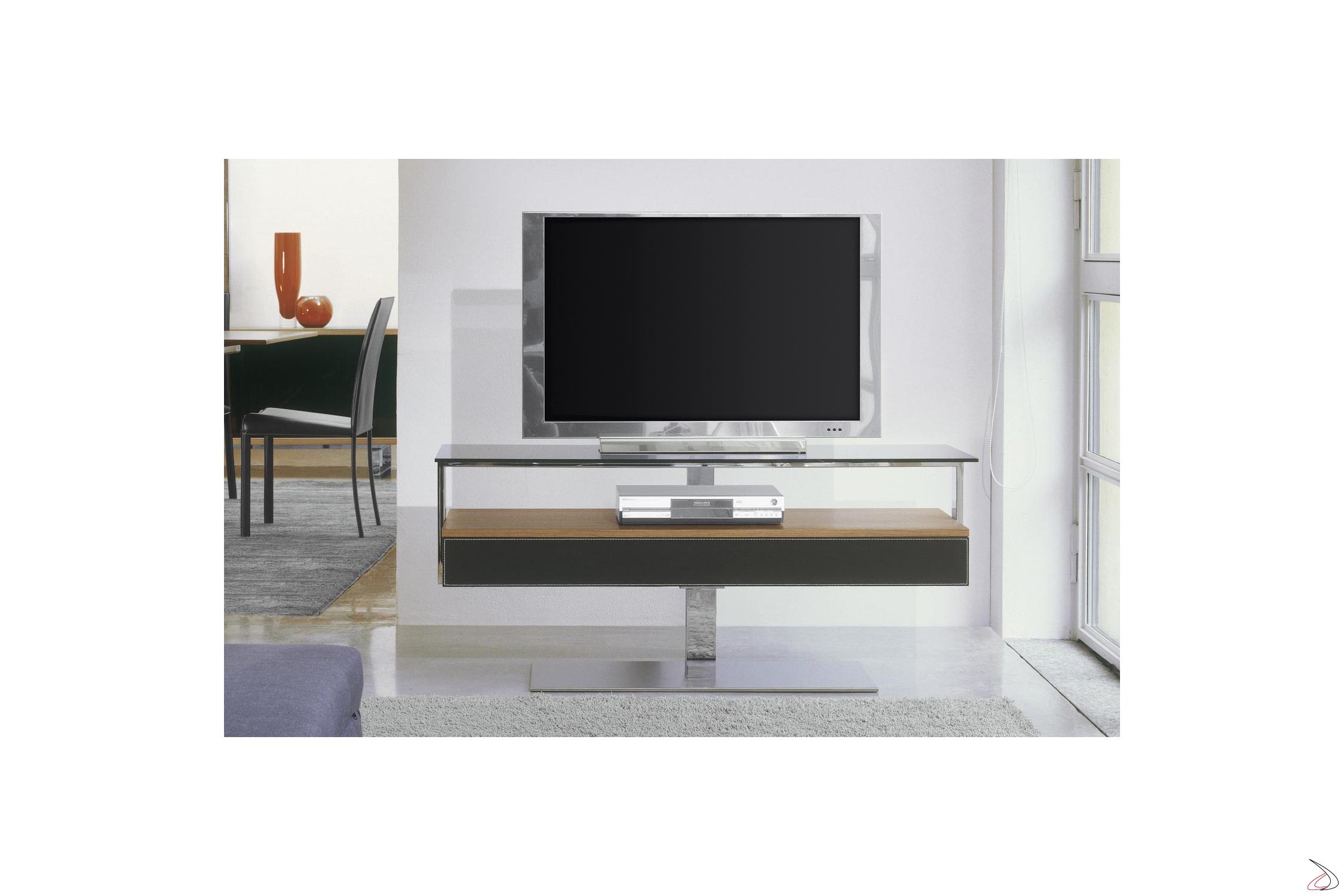 Carrelli Porta Tv Led.Elica Design Tv Stand Toparredi Arredo Design Online