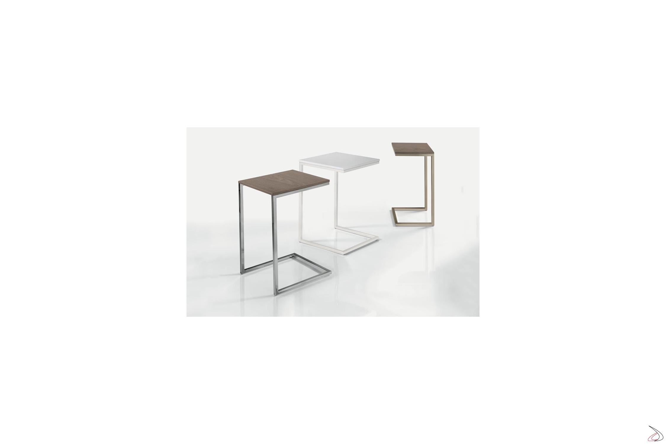 Tavolini Da Salotto Moderni Bontempi.Tavolino Alto Quadrato Da Salotto Tower Toparredi Arredo