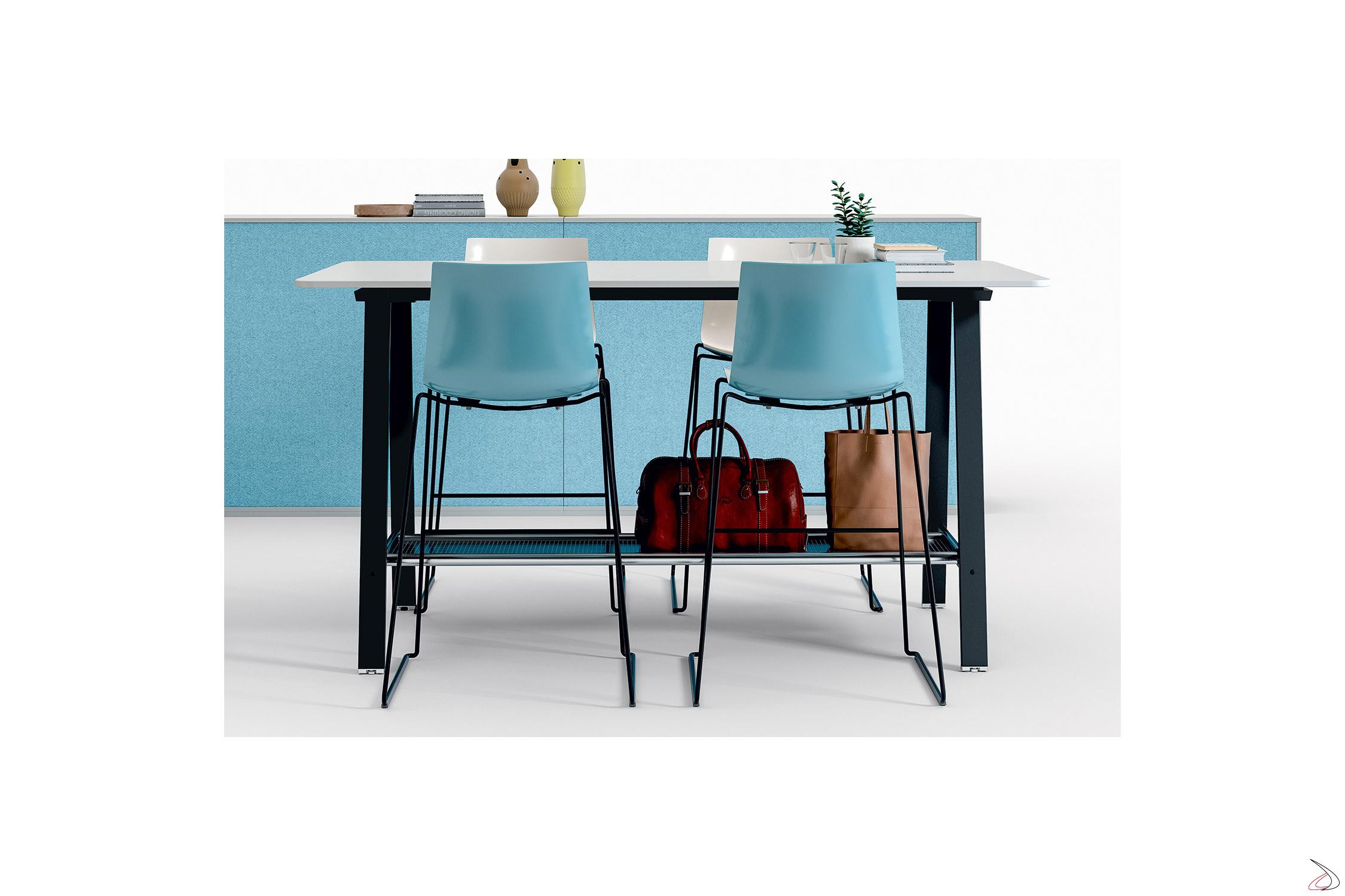 Tavolo alto ufficio per disegnatore Atom | TopArredi