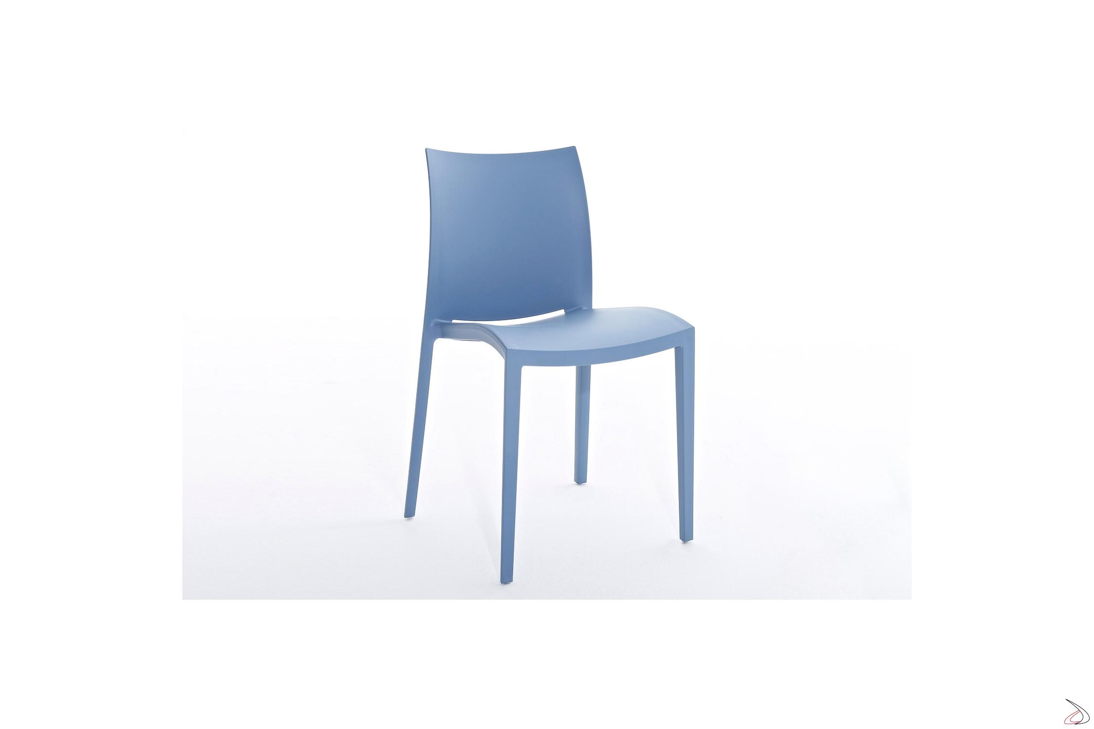Sedie Colorate Da Giardino.Go Polypropylen Gartenstuhl Von Colico Toparredi Arredo