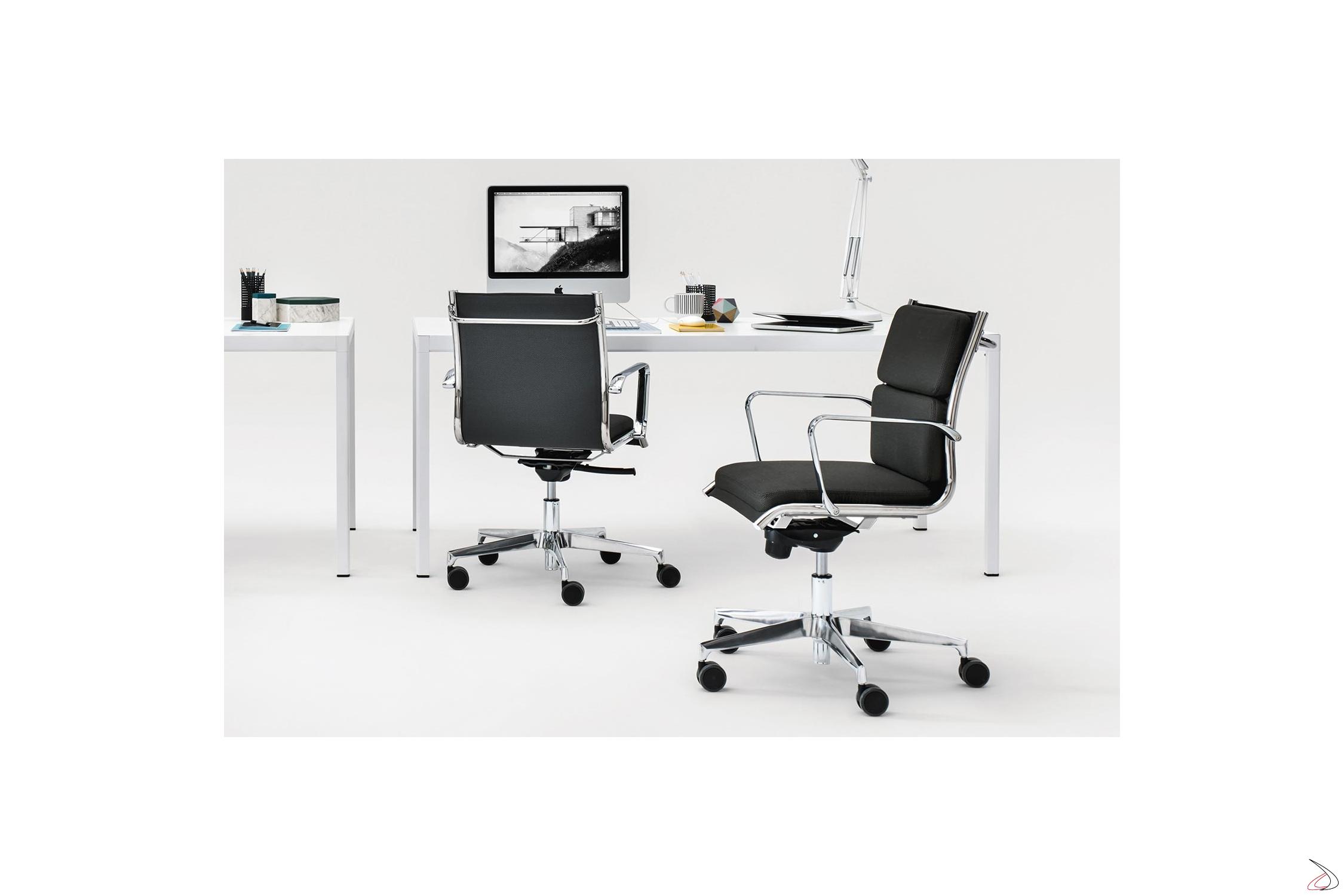 Poltrone Con Ruote Per Ufficio.Eclipse Executive Office Chair Toparredi Arredo Design Online