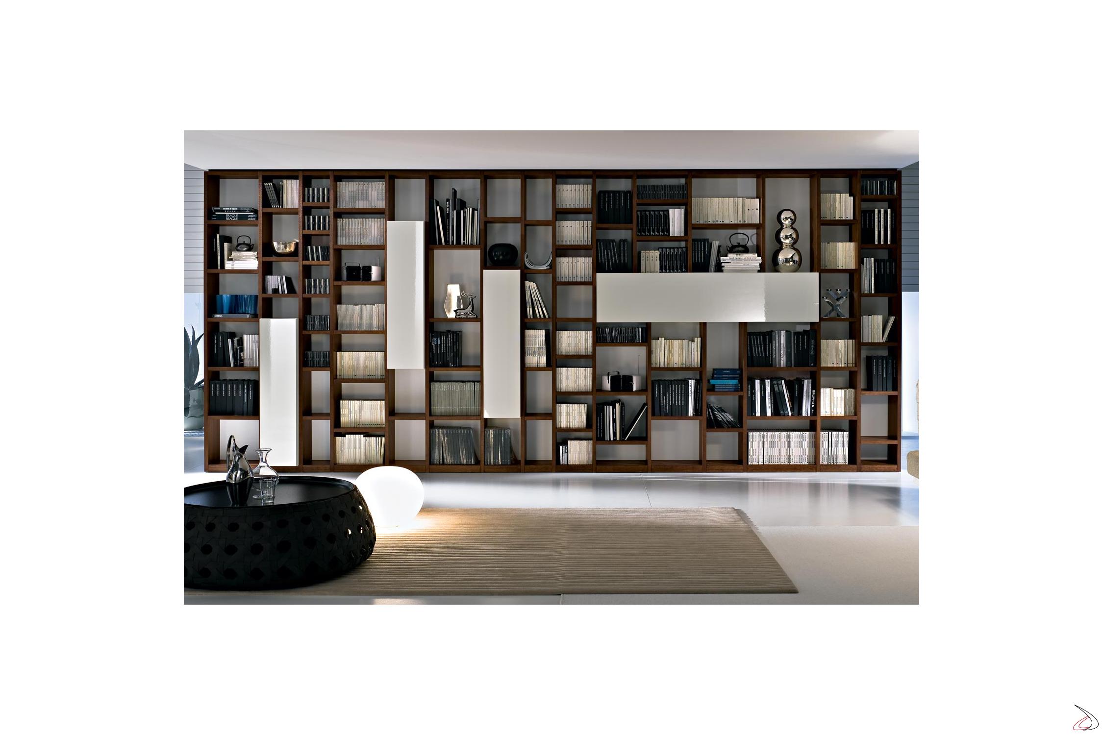 Modernes booki b cherregal aus holz toparredi for Design da ufficio