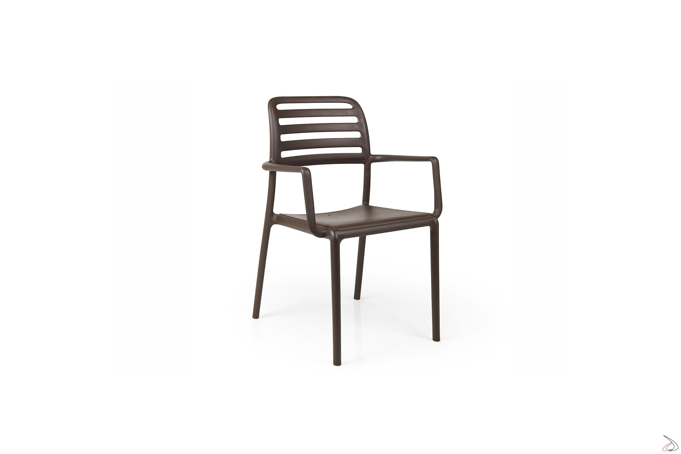 Nardi Sedie Da Giardino.Costa Plastic Chair Toparredi Arredo Design Online