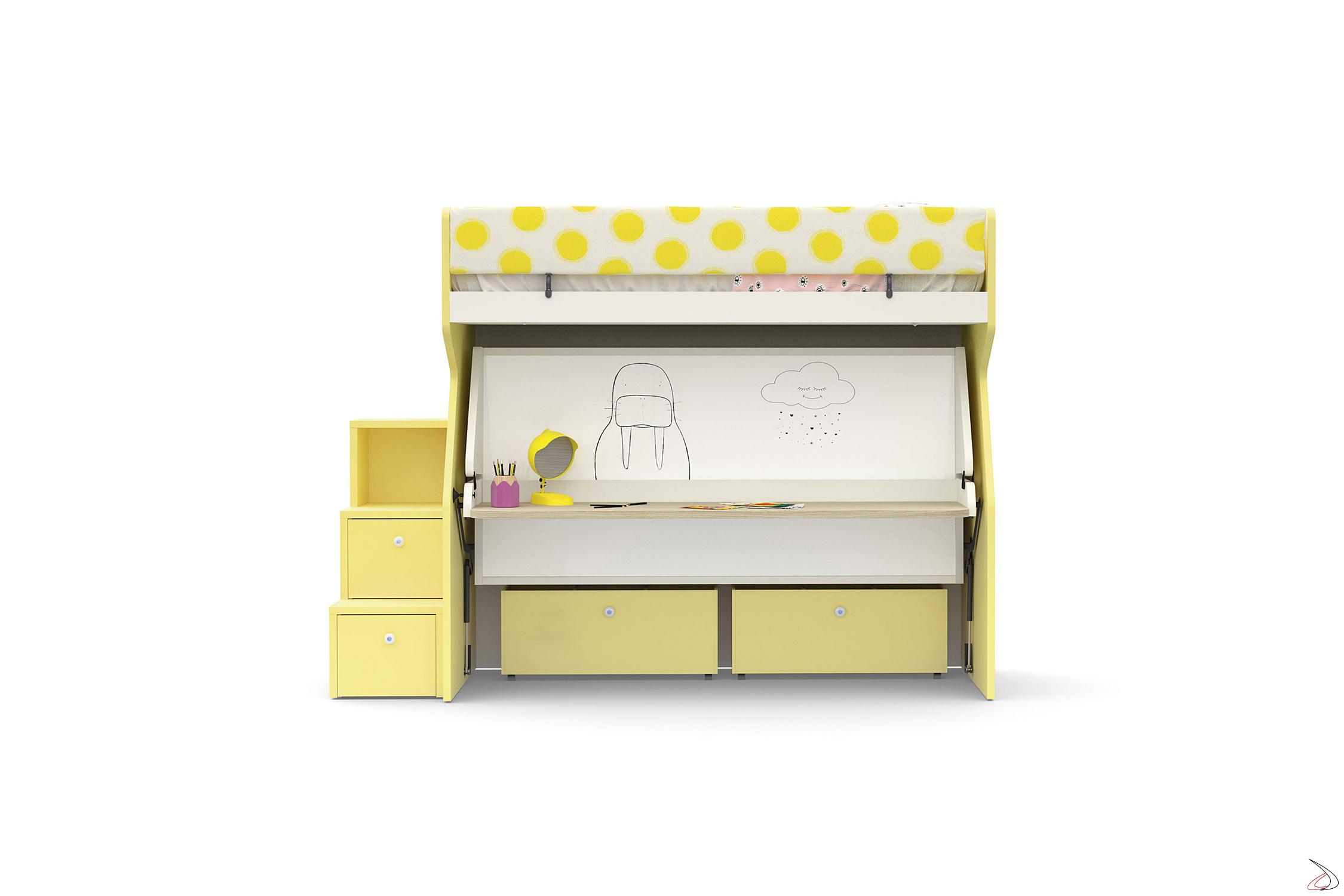 Scalette Per Letto A Castello.Tippy Bunk Bed Toparredi Arredo Design Online