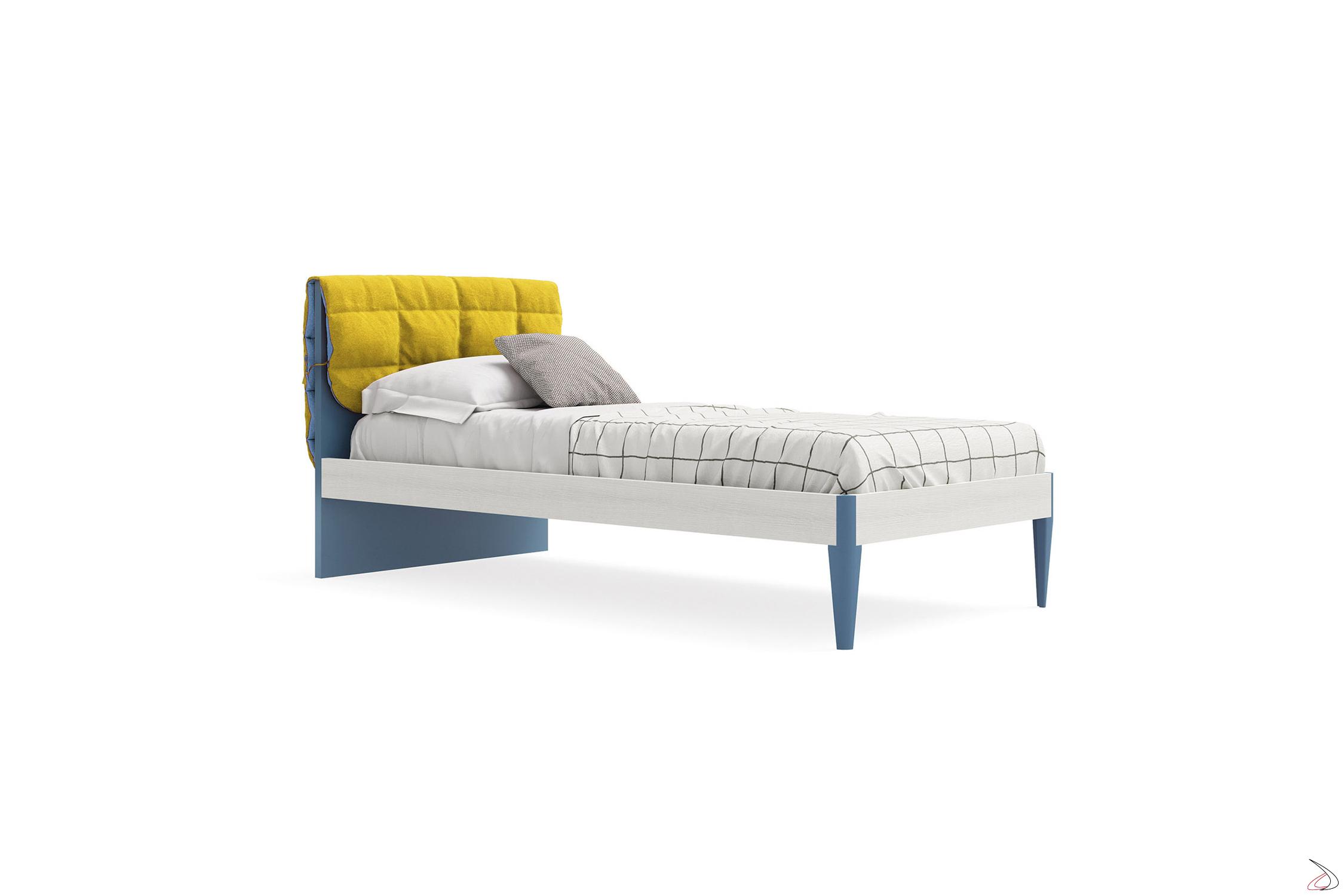 Testata Letto Bambina.Nuk Wooden Single Bed For Children Toparredi Arredo Design Online