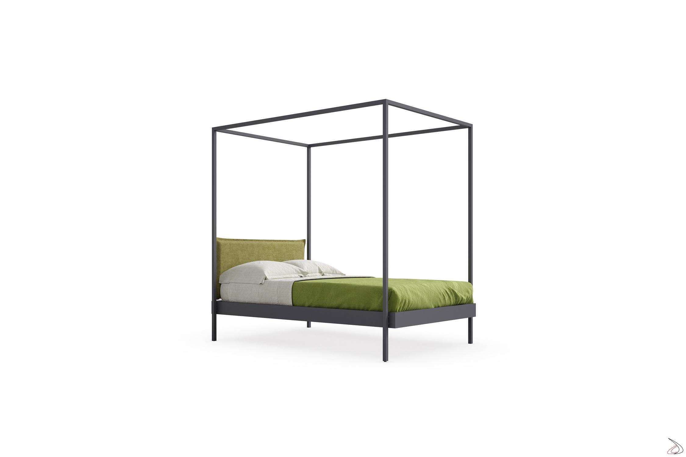 Letto Baldacchino Una Piazza E Mezza.Kap Modern Canopy Bed Toparredi Arredo Design Online