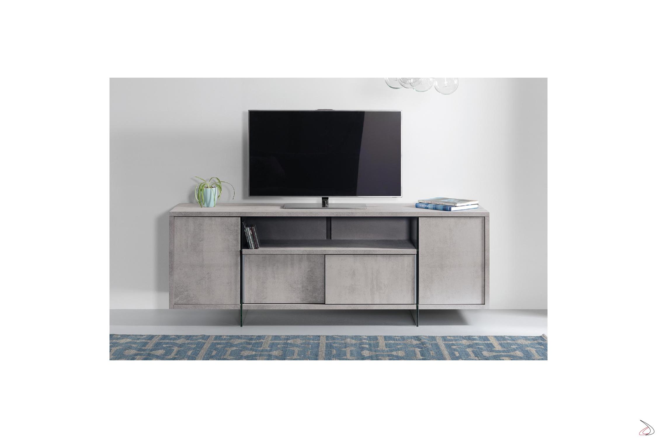 Mobile Tv Con Ante Scorrevoli.High Design Tv Cabinet With Movie Cable Gland Toparredi Arredo