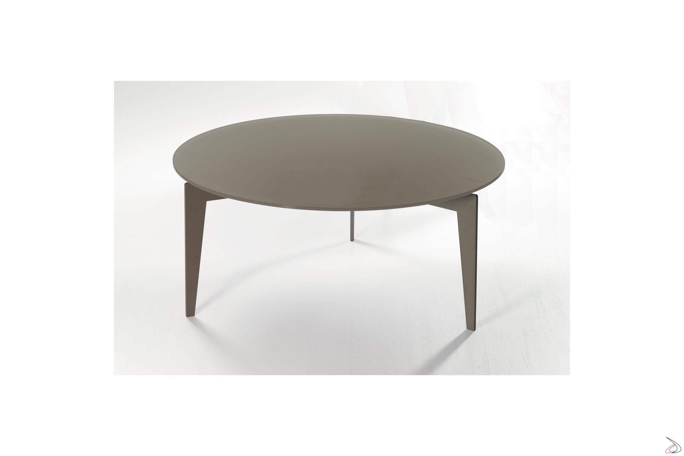 Tavolino Basso Rotondo.Tavolino Nordic
