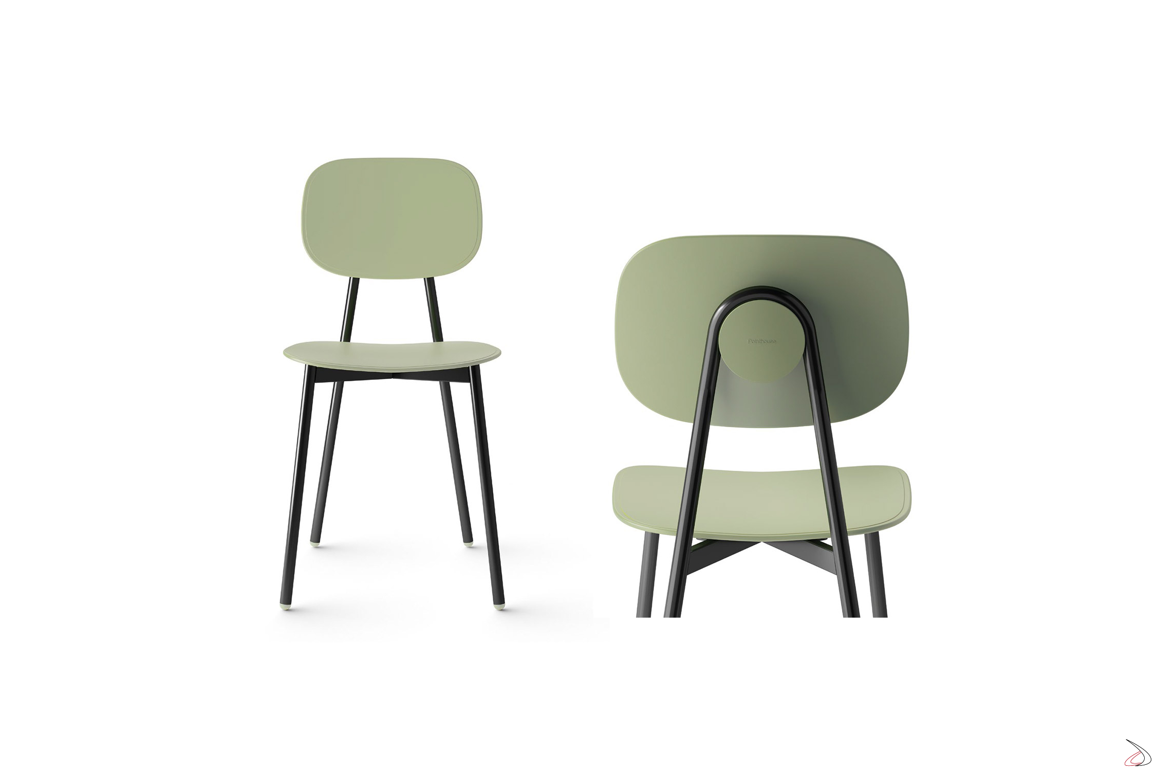 Point House Tavoli E Sedie.Tata 4 Chair With Simple Seat Suitable For Every Taste Toparredi