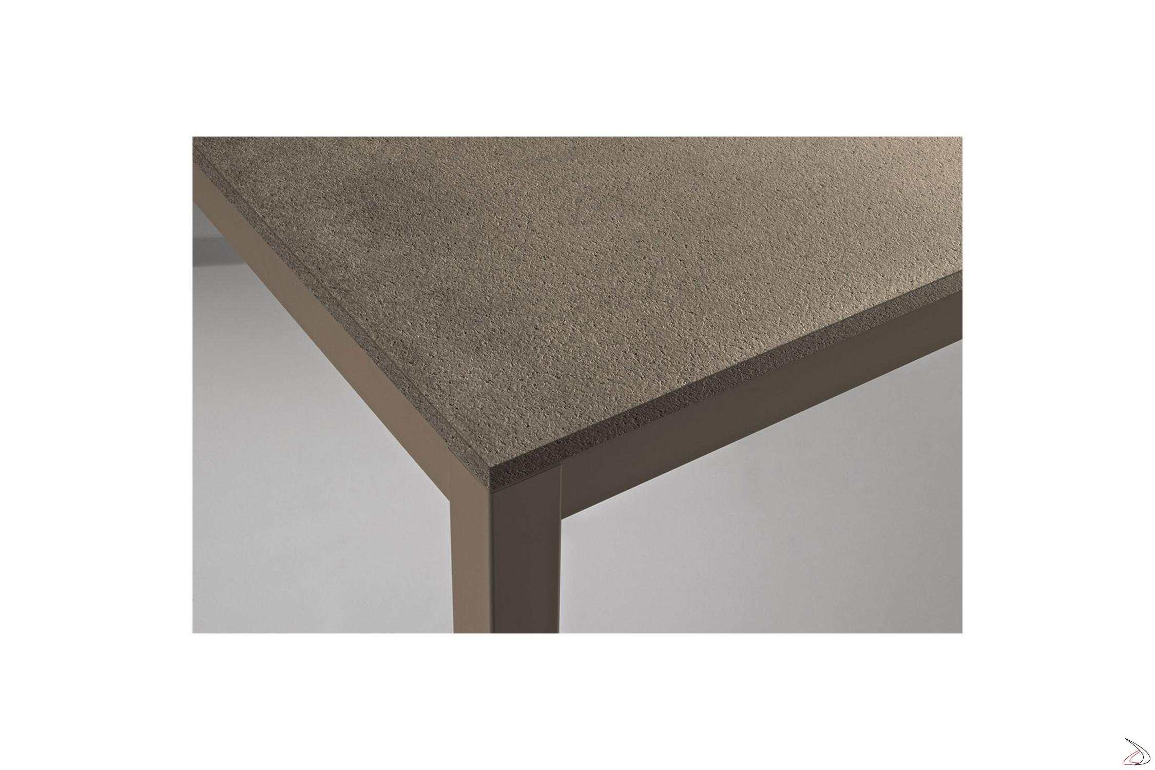 Moderner Rechteckiger Ausziehbarer Tisch Aus Metall Toparredi