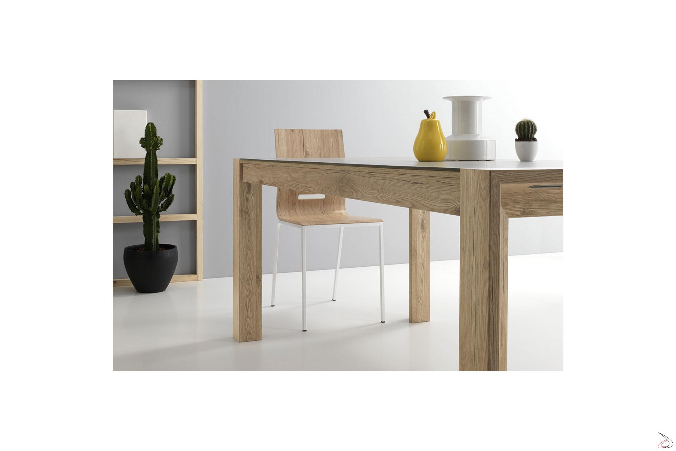Tavolo Allungabile 4 Metri.Milano Living Room Table With An Elegant And Compact Design