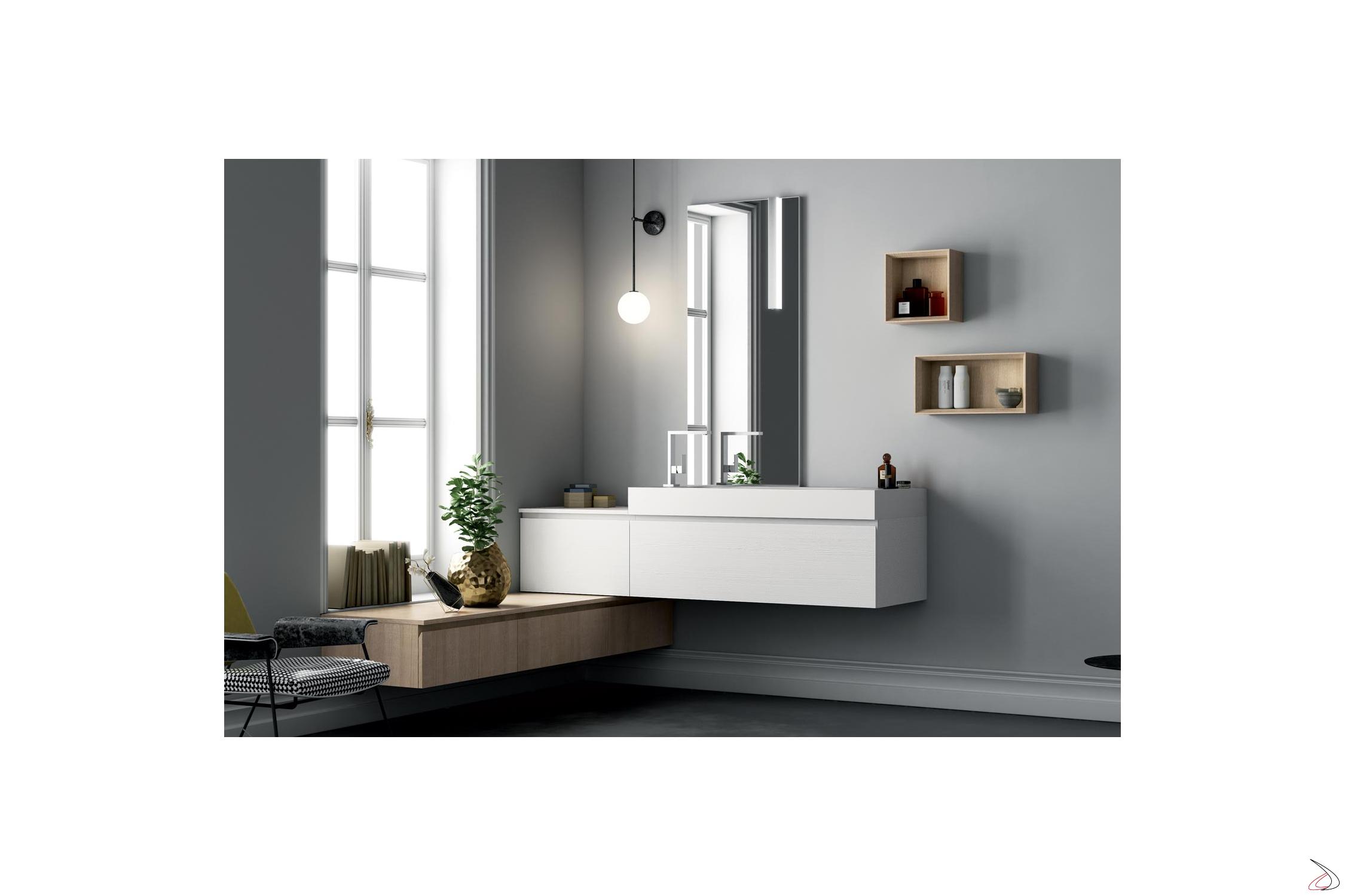 Angolo Tv Moderno pilone bath