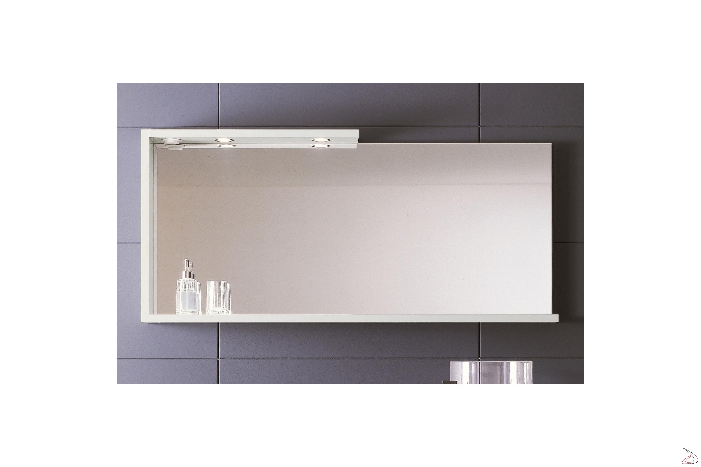 Specchio Bagno Con Mensola E Luce.Specchio Con Luce Da Bagno From Toparredi Arredo Design Online