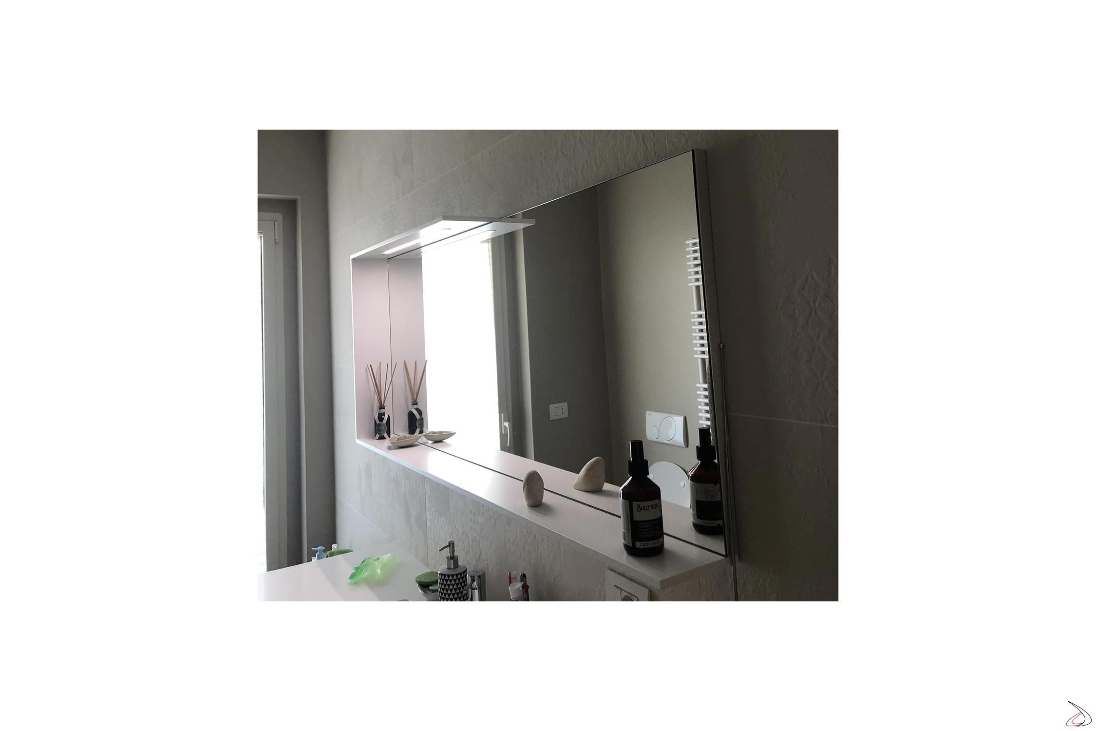 Specchio Con Led Incorporato.Specchiera From