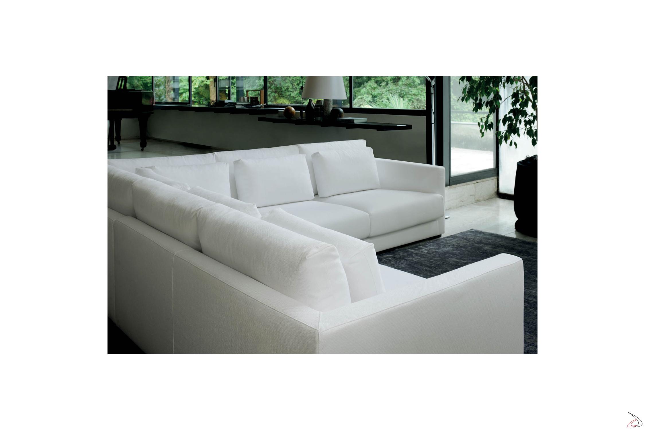 Divano Angolare Piccole Dimensioni divano pluffy
