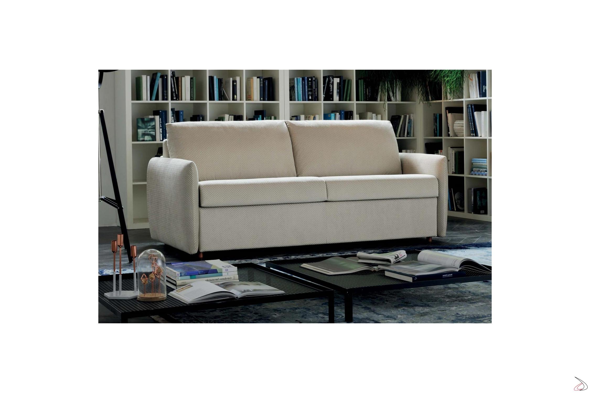 Divano Letto Matrimoniale 160x190.Alvise Modern Folding Sofa Bed Toparredi Arredo Design Online