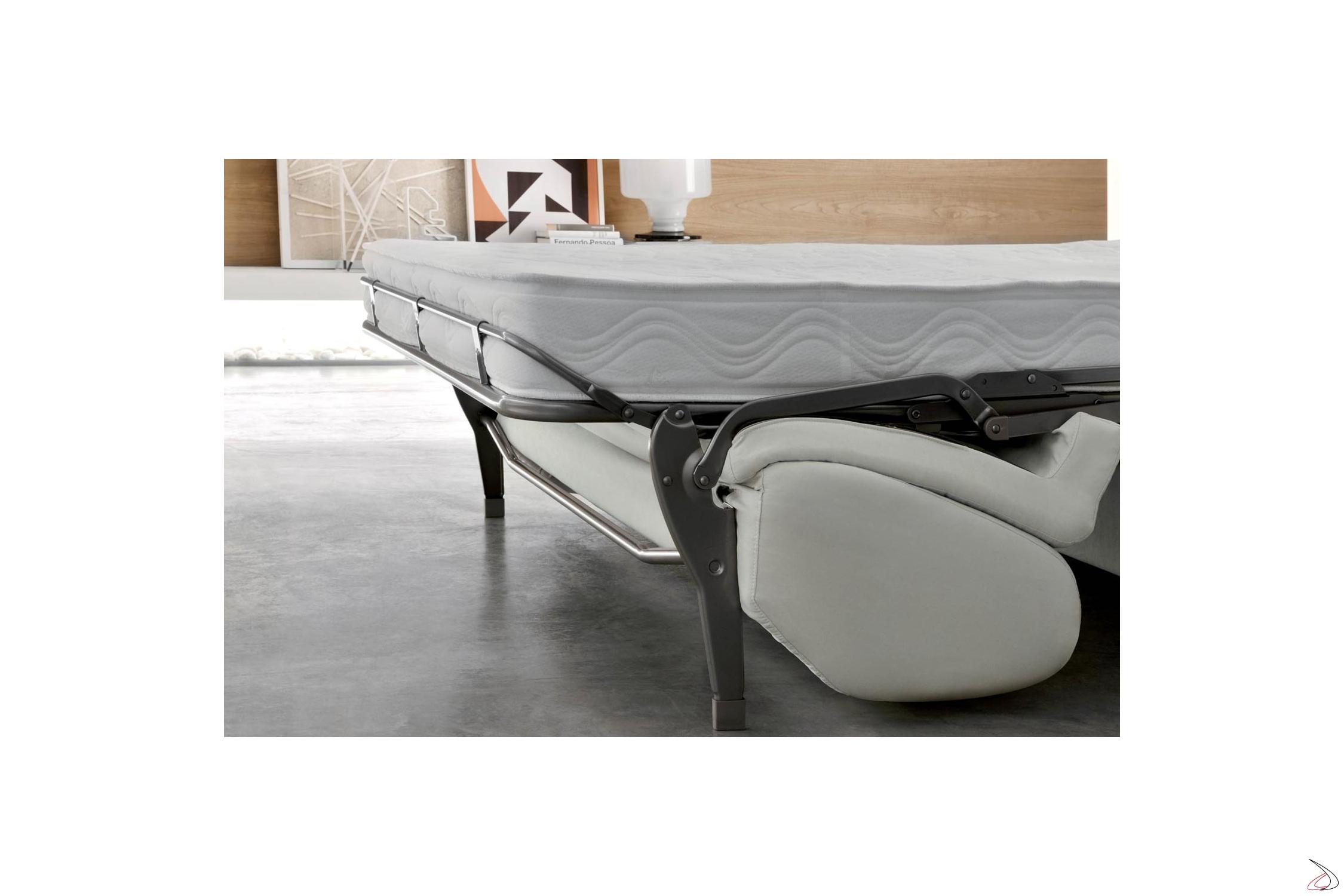 Divano Letto Con Rete Elettrosaldata.Modern Pechino 3 Seater Sofa Bed Toparredi Arredo Design Online