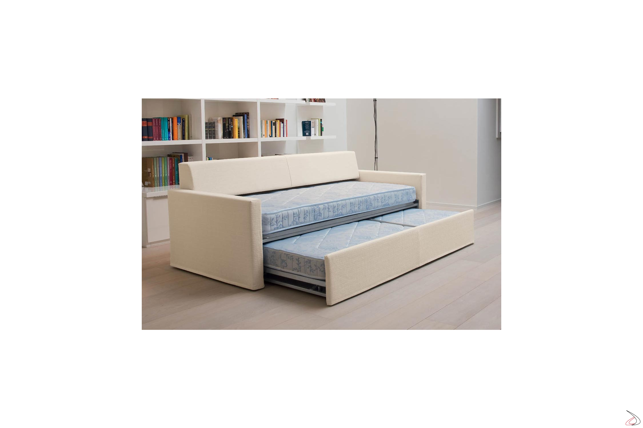 Divano Letto Singolo Estraibile.Sofa Convertible Into 2 Paiper Beds Toparredi Arredo Design Online
