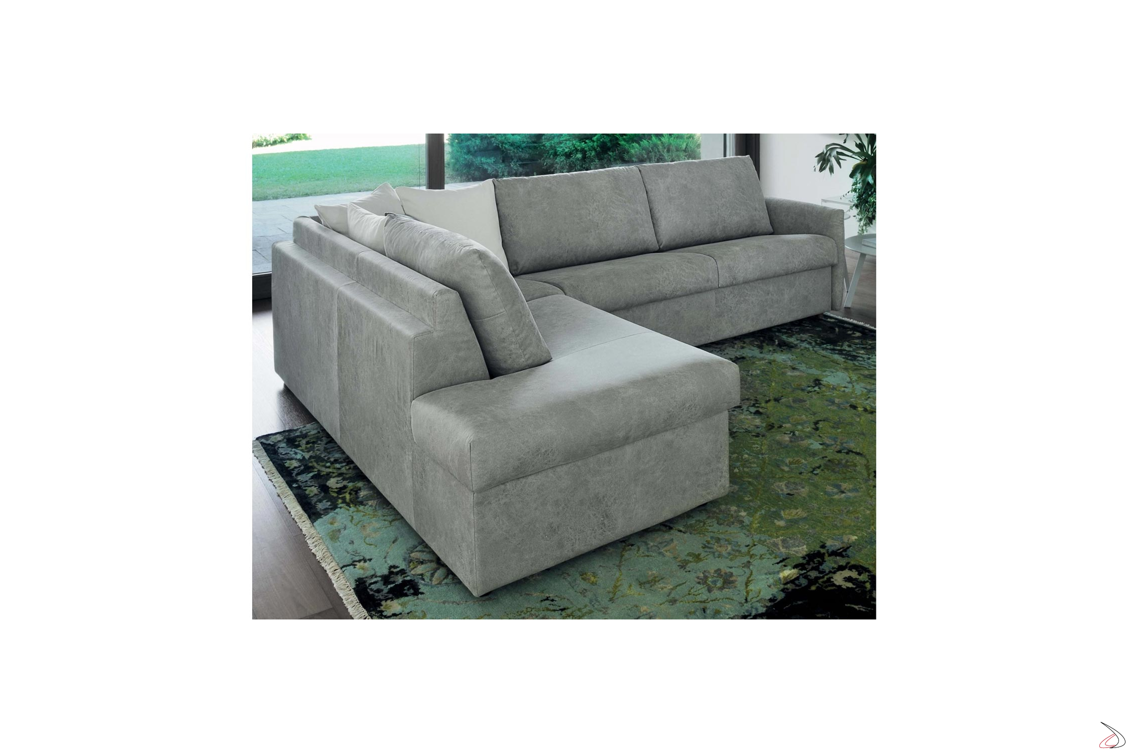 Divano Letto Con Chaise Longue.Alvise Sofa Bed With Chaise Lounge Toparredi Arredo Design Online