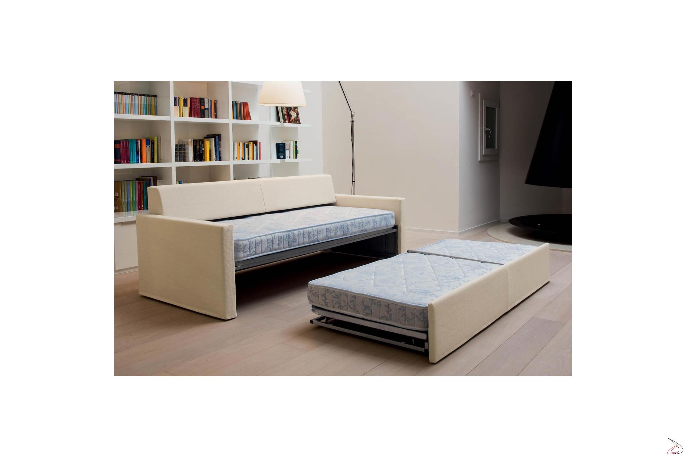 Divano Con 2 Letti Singoli.Paiper Sofa Bed
