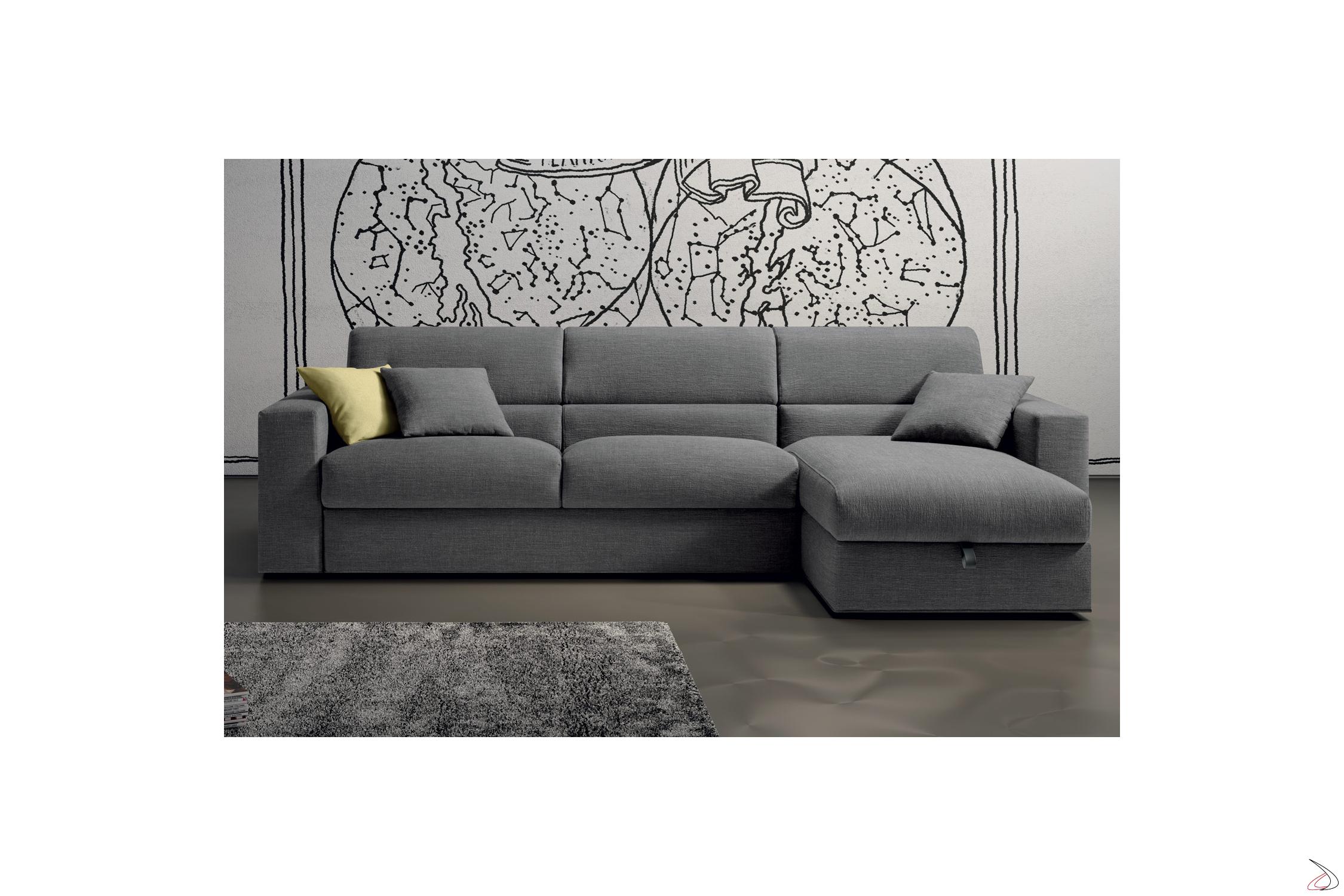 Letti Ad Angolo Con Contenitore.Laxy Sofa Bed And Storage Peninsula Toparredi Arredo Design Online