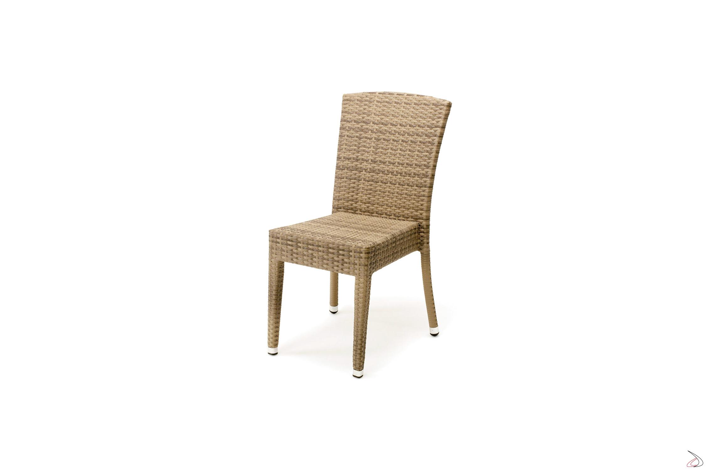sedie giardino posizionabili