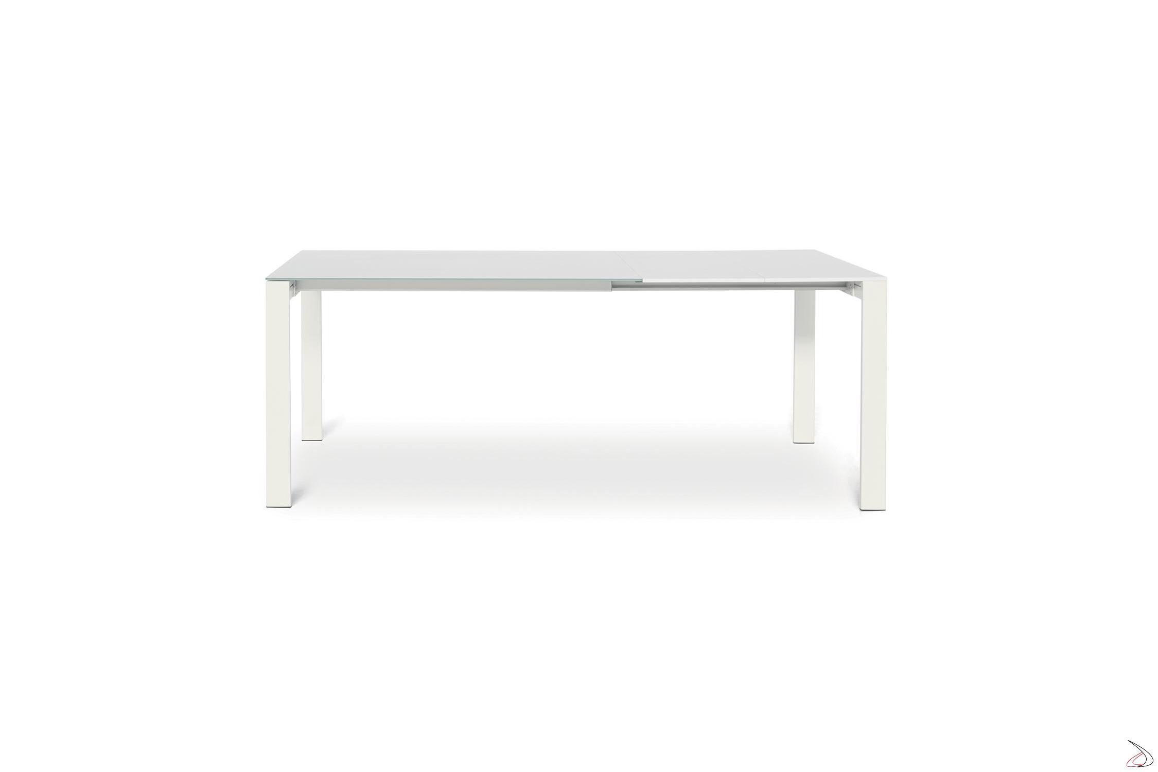 Tavolo Vetro Allungabile Economico.Extendable Living Room Table With Modern Sangy Design Toparredi