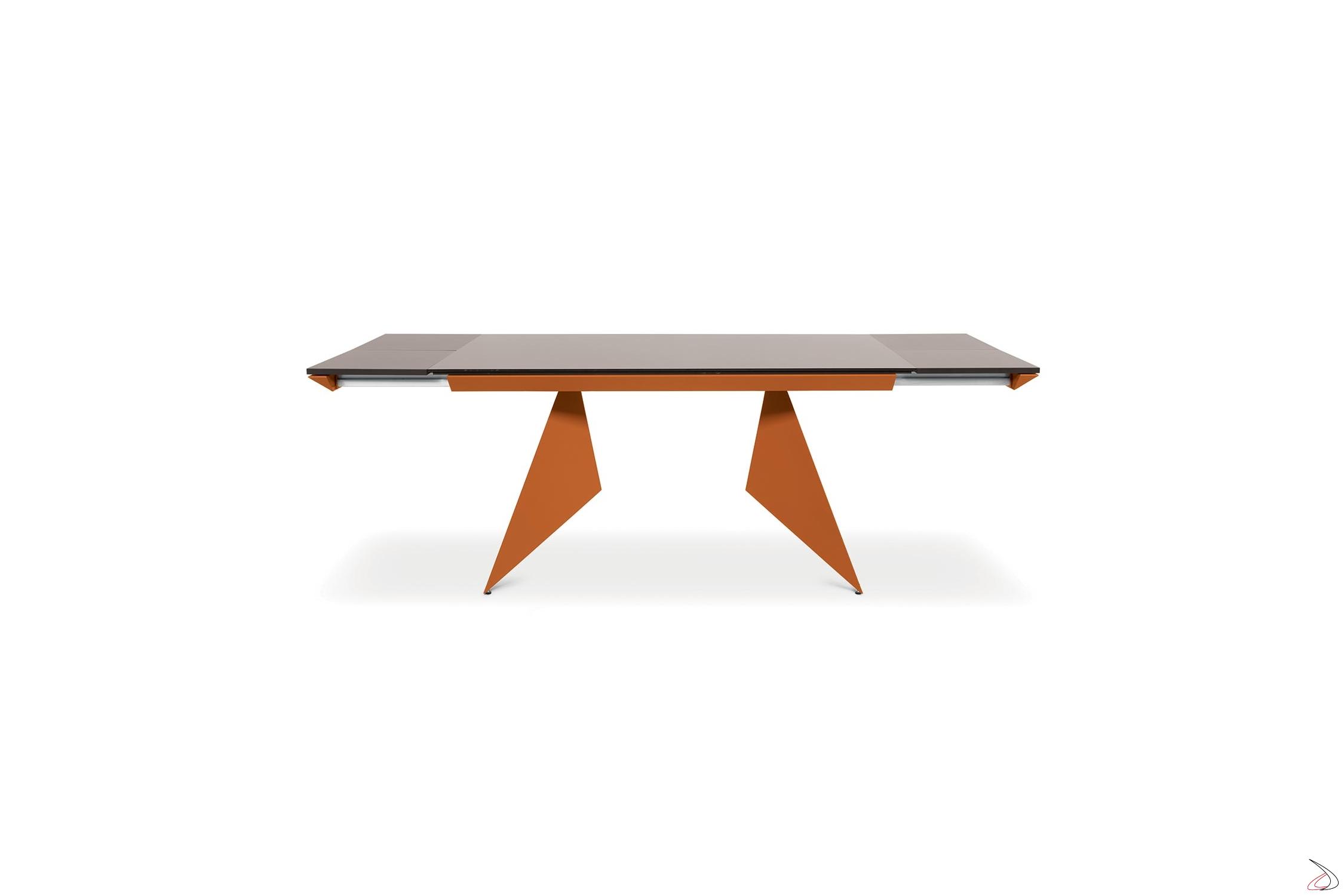 Tavolo In Vetro Nero Allungabile.An Attractive Design Table With A Book Opening System Toparredi