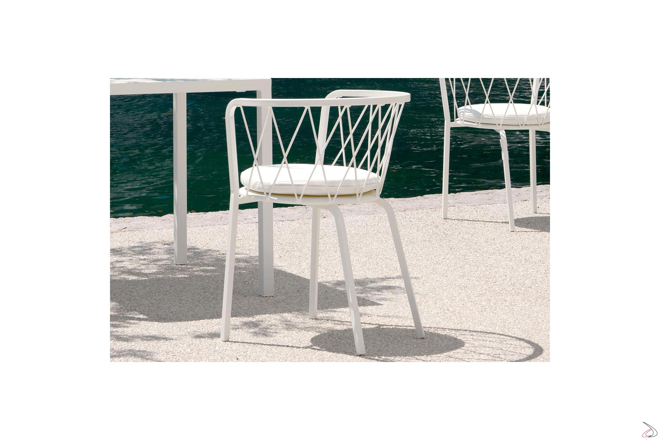 Gbp Mobili Da Giardino.Sedia Di Design Da Giardino Desiree Toparredi Arredo Design Online