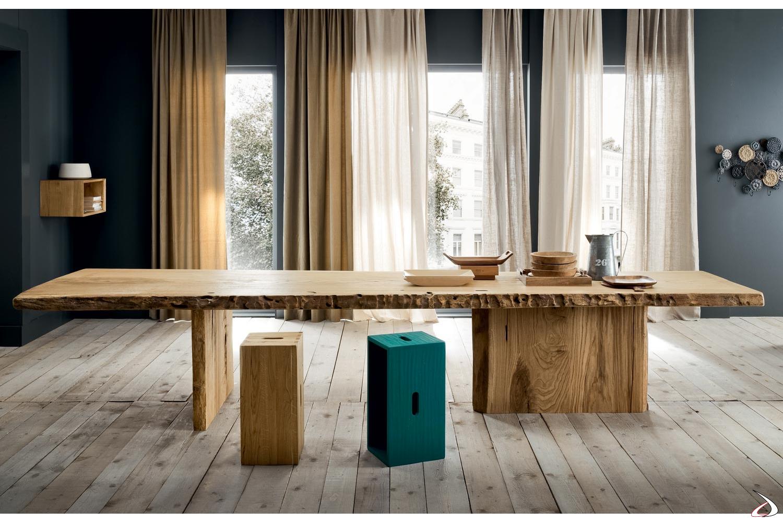 Legno Grezzo Per Tavoli tavolo jaguar