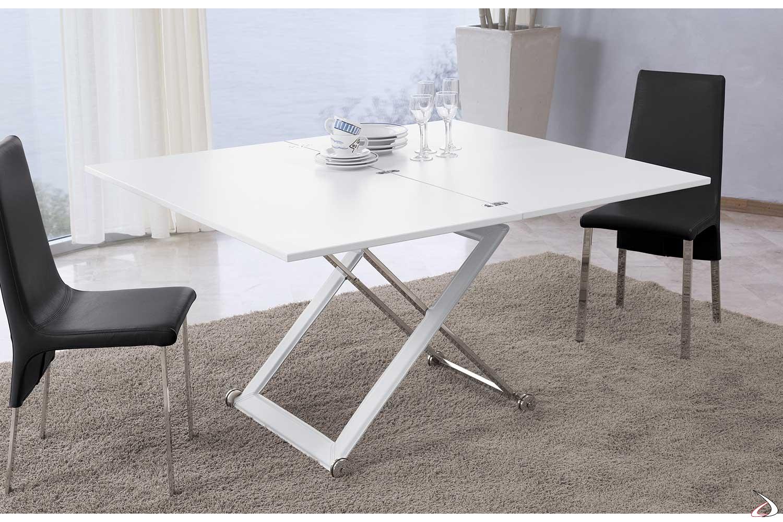 Tavolino Salotto Trasformabile Tavolo Pranzo.Tavolino Punto