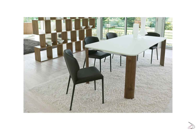Tavolo Bianco In Legno arthur table